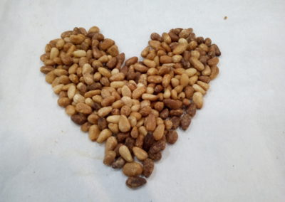 cuore di pinoli.....
